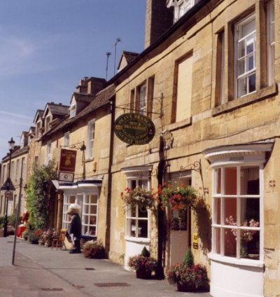 The Olive Branch, Broadway, Cotswolds, England.